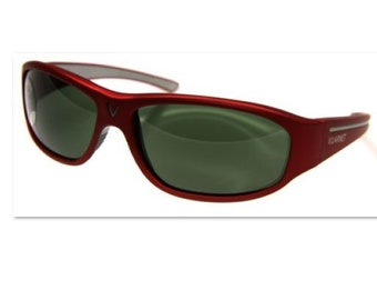 dcbb6a6000ac Sunglasses sport vintage years 1990 VUARNET 130 red + green mineral glasses  Px3000-made in France