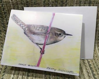 House Wren card