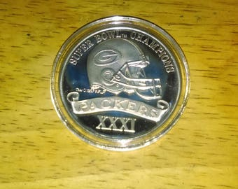 Green bay packers coin