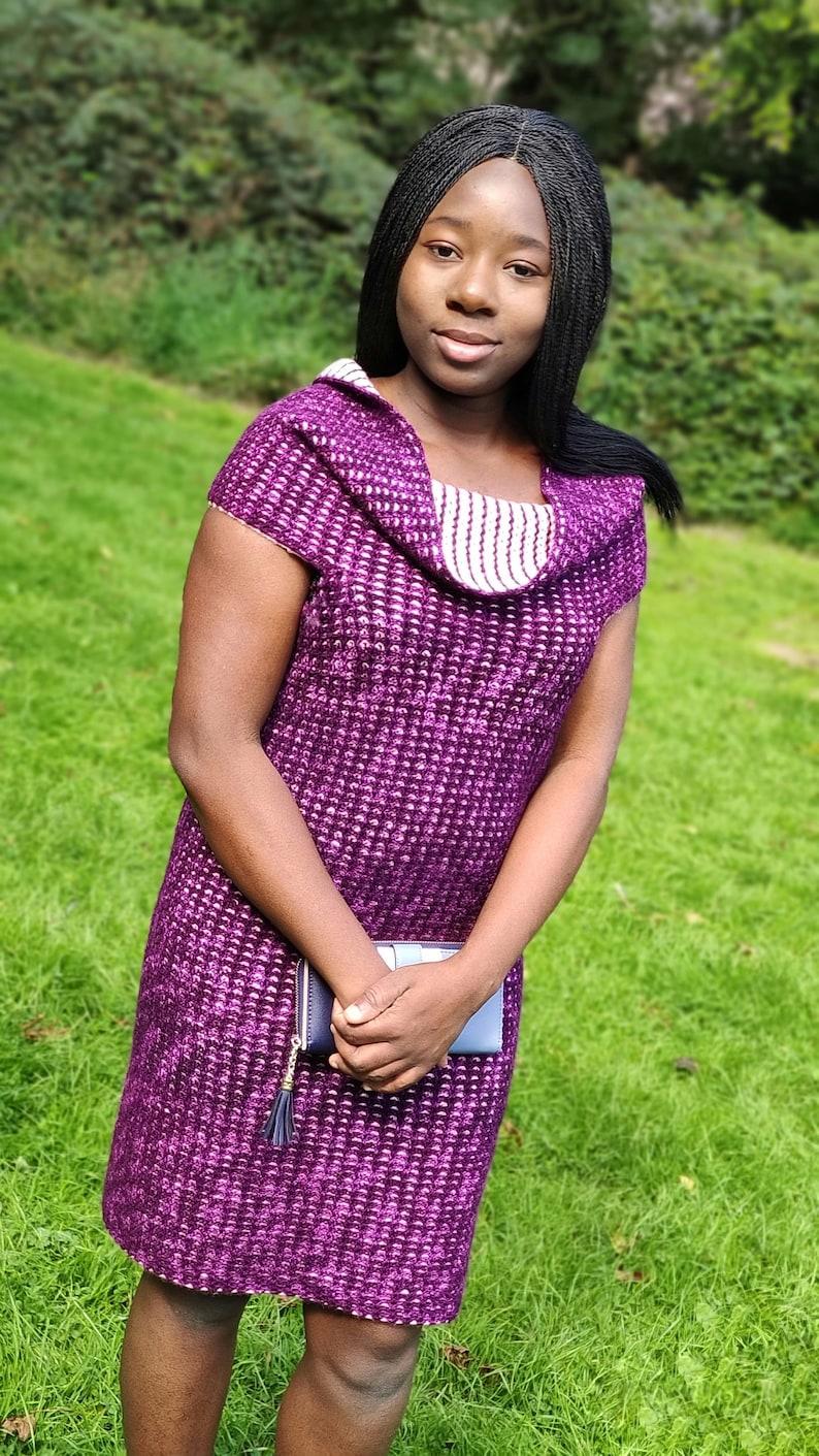 Crochet convertible dress  pattern women crochet dress image 1