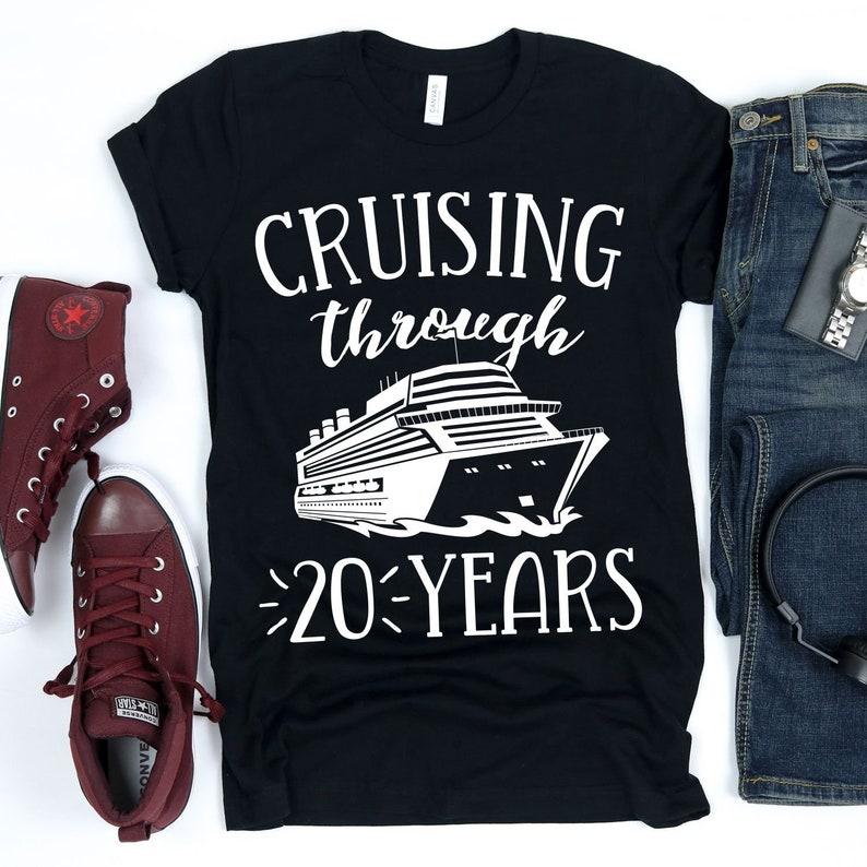 Cruising Through 20 Year / T-Shirt / Tank Top / Hoodie / Happy image 0
