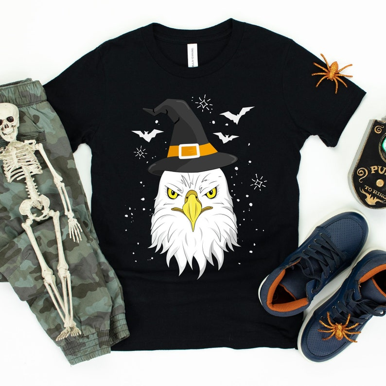 Halloween Eagle Witch / T-Shirt / Tank Top / Hoodie / Girl image 0