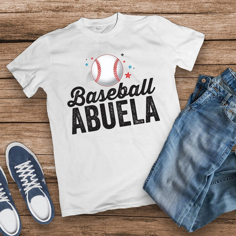 Baseball Abuela Shirt Baseball Mom Baseball Shirt Family image 0