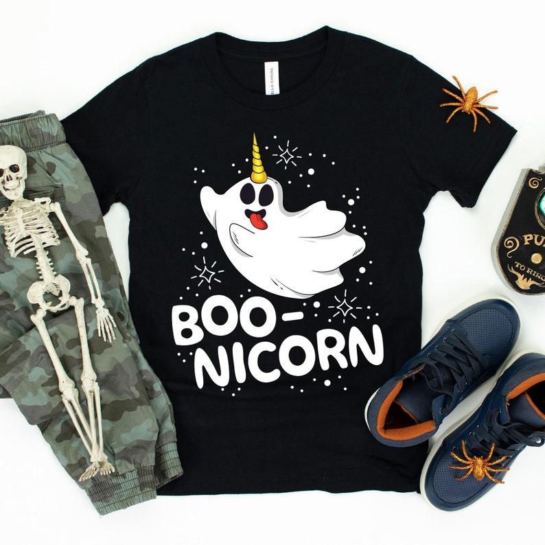 Boo-nicorn / T-Shirt / Tank Top / Hoodie / Boy Halloween / image 0