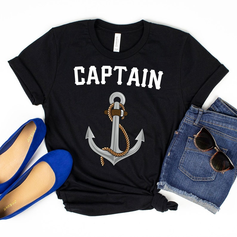 Captain / T-Shirt / Tank Top / Hoodie / Cruise Vacation / image 0