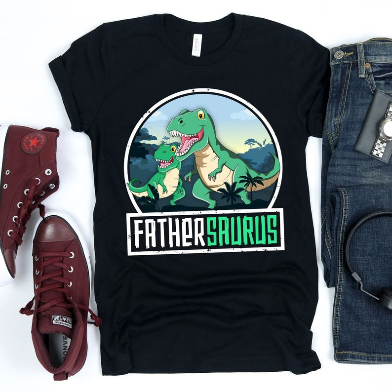 Fathersaurus / T-Shirt / Tank Top / Hoodie / Dad Shirt / Gift image 0