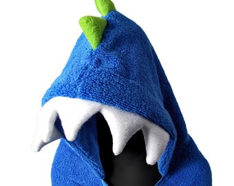 Hooded Monster Towels for Children and Adults