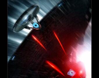 Star Trek Into Darkness - 11x17 Framed Movie Poster