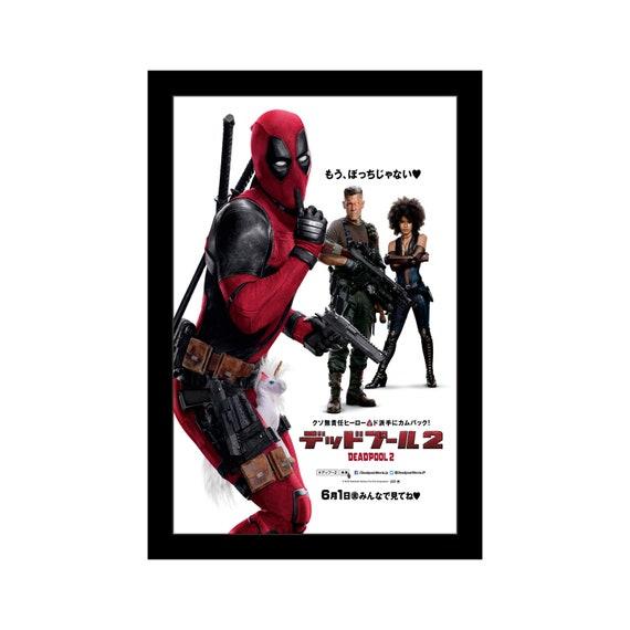 Deadpool 2 11x17 Framed Movie Poster