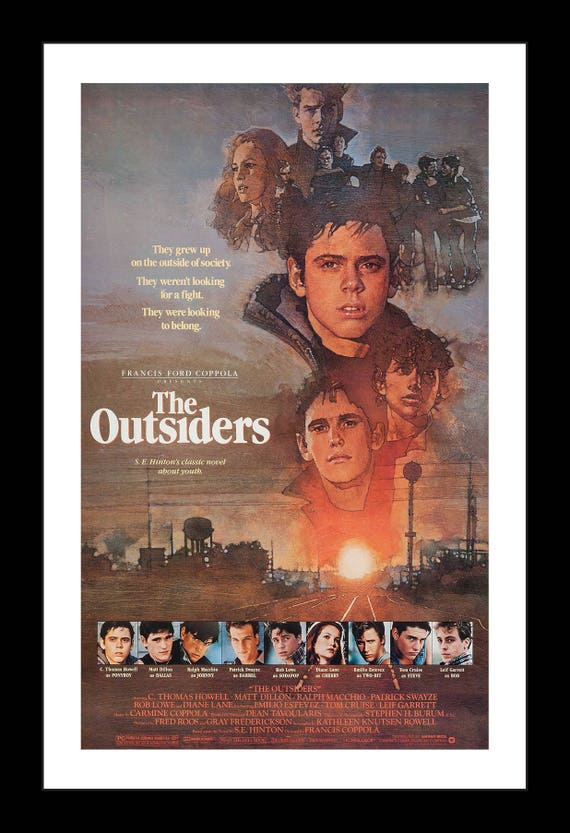 """Outsiders The Movie Poster Mini 11/""""X17/"""""""