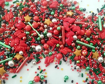 Holiday Cake Topper Etsy