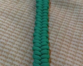 8 1/2 Inch Paracord Bracelet (Fishtail Belly weave)