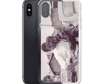 Young Barack and Michelle Obama Phone Case - iPhone  x, 7, 8, 6, Plus, s