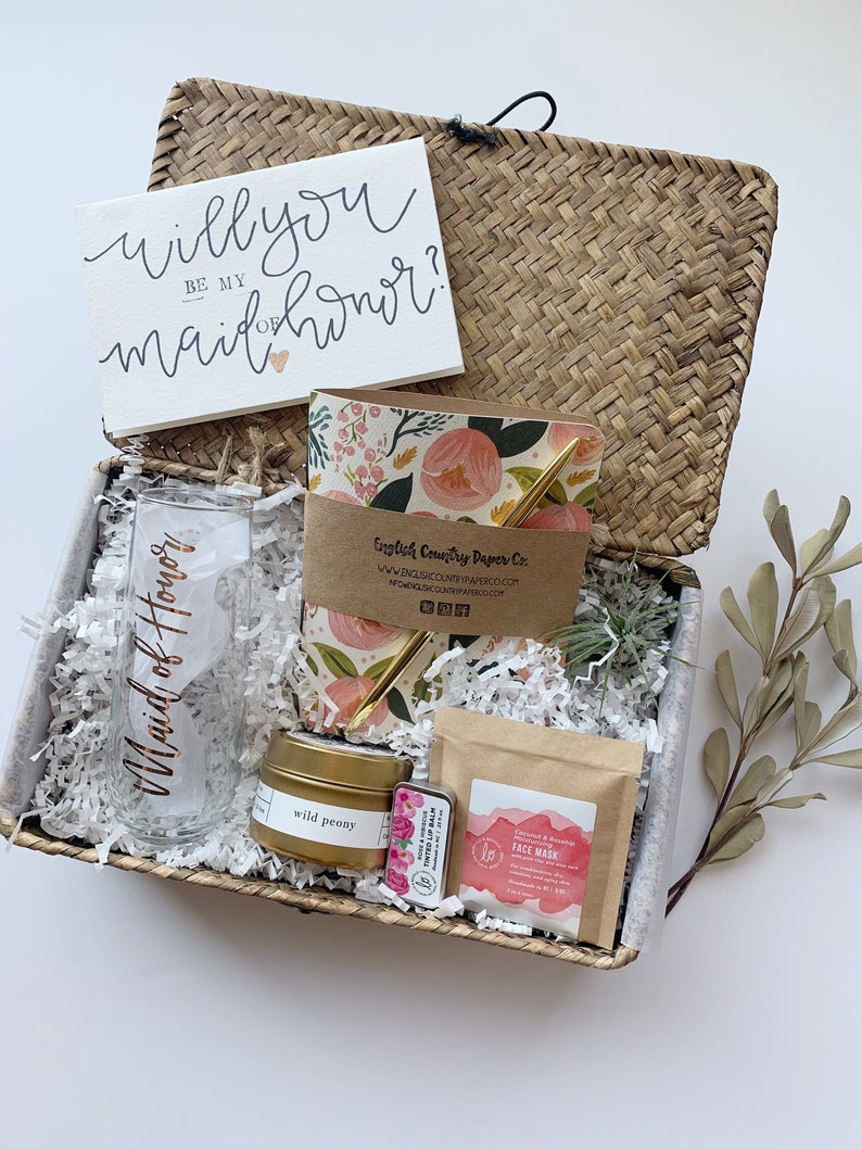 Maid Of Honor Gift Box Curated Gift Bride Gift Gifts For Any Occassion Wedding