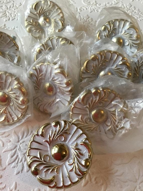 Vintage NOS Amerock French Provincial Copper Cabinet Knobs