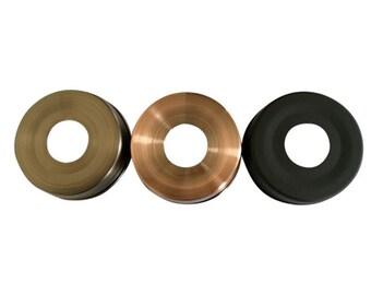 20 Packs Lids for Mason Jar Soap Dispensers Black Brass Copper and Bronze 70mm wholesale