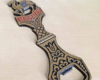 Antique Bottle Opener from the Holy Land