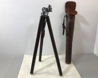 Vintage Camera Tripod  SINE Portable Telescoping Camera Tripod Aluminum Camera tripod Antique camera Tripod (#334)