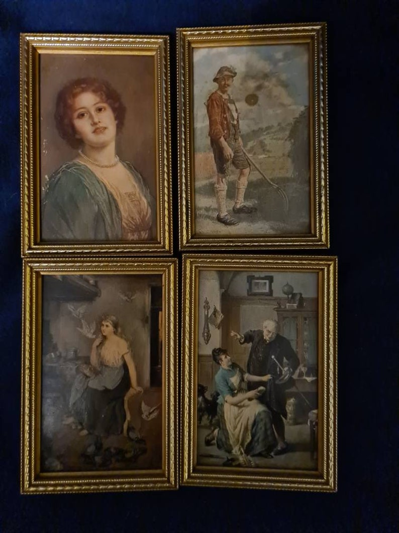 Set of four Pictures
