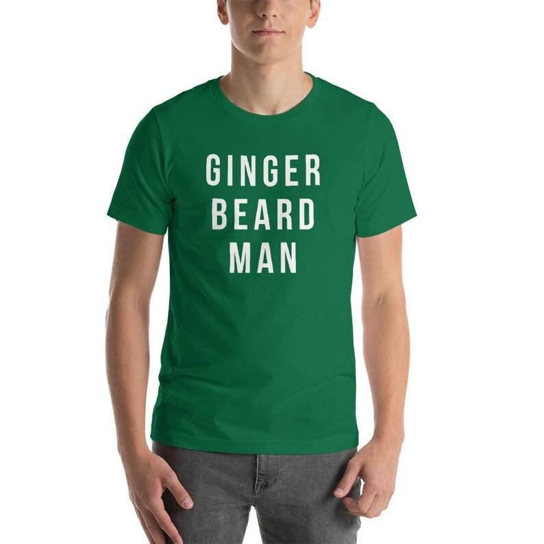 bbdef9fe Funny St Patricks Day Shirts ginger beard man shirt   Etsy