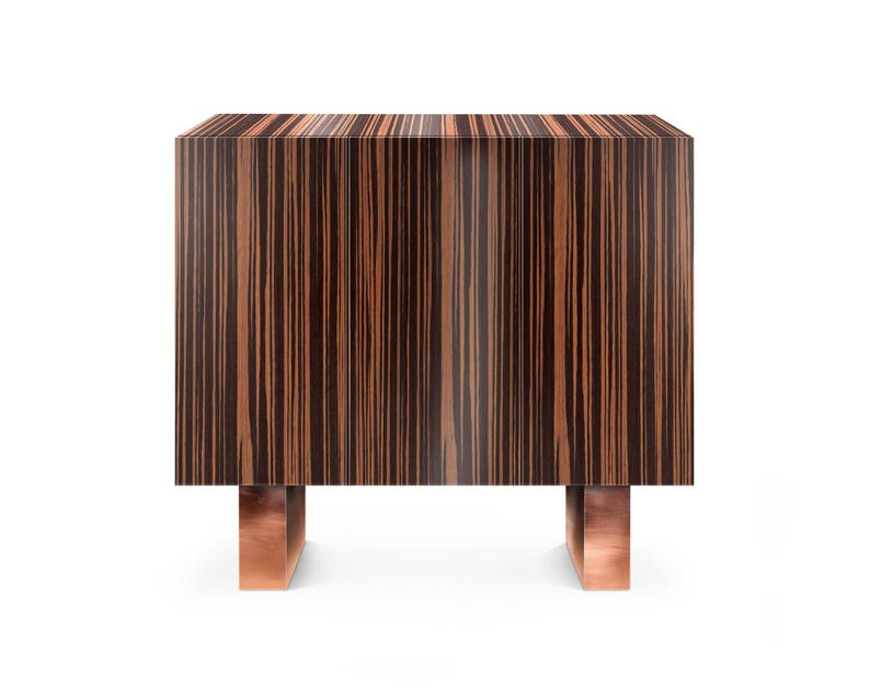 Credenza Contemporary : Marcel credenza contemporary transitional mid century modern