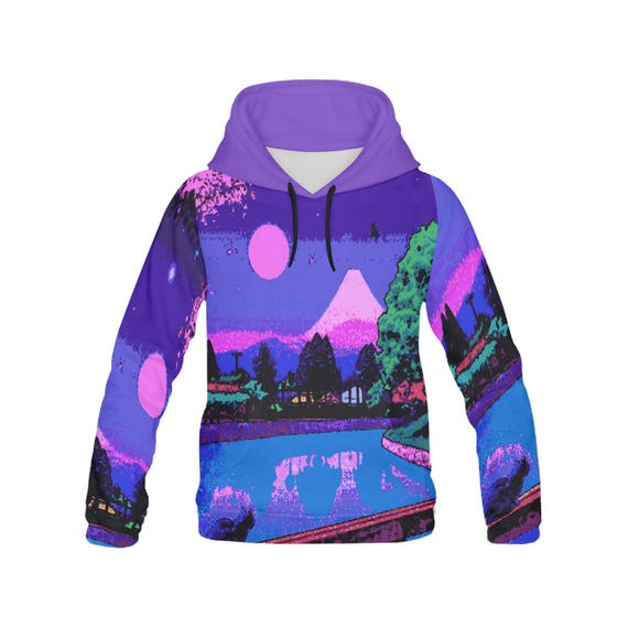 a65628e47 Vaporwave hoodie aesthetic clothing tumblr ambient | Etsy