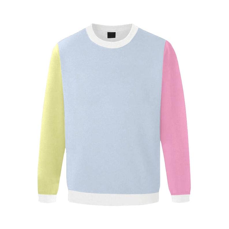 a7c220a45 Pastel sweatshirt grunge sweater vaporwave aesthetic clothing | Etsy