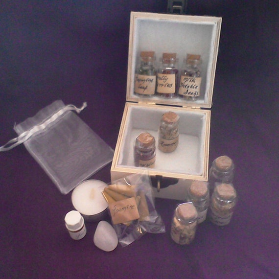 Hedge Witch Apothecary Herbs And More Boxed Set - Winter Wonder  Pagan,  Wicca, Witchcraft
