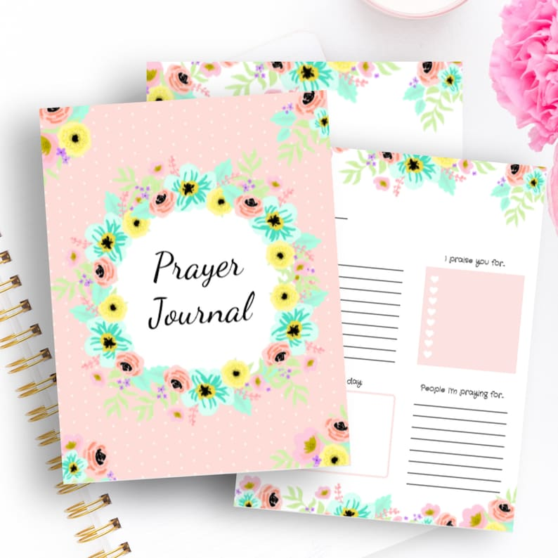 graphic about Printable Prayer Journal Pdf named Printable prayer magazine/ prayer magazine/ Prayer magazine for gals/ journaling/ Bible printable/Bible magazine/ printable magazine/ Bible PDF