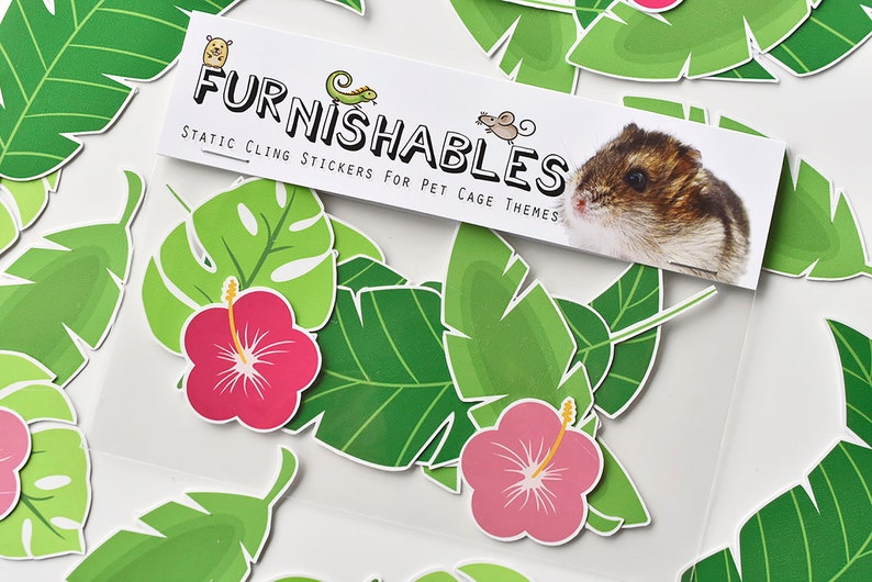 Cage Theme Stickers for Hamsters Gerbils Fish Reptiles | Etsy