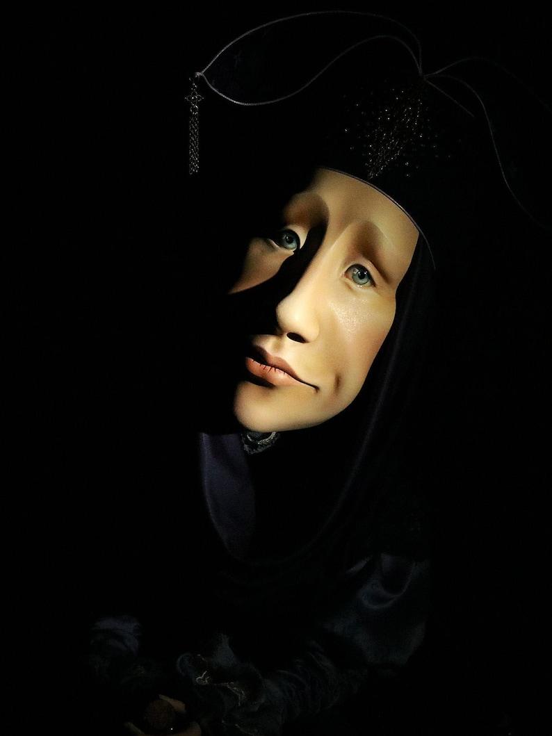 Interior art doll Art doll sculpture Alchemist  OOaK image 0