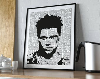 Fight Club Poster - Tyler Durden
