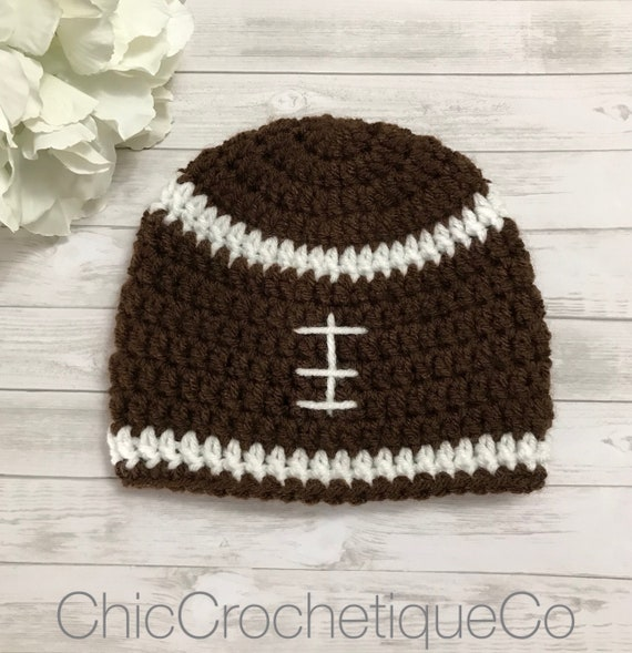 Football Hat For Newborn Football Beanie Hat for Kids Baby  35f7fa778