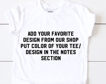 """NAME YOUR TEE """"Color & Design"""""""