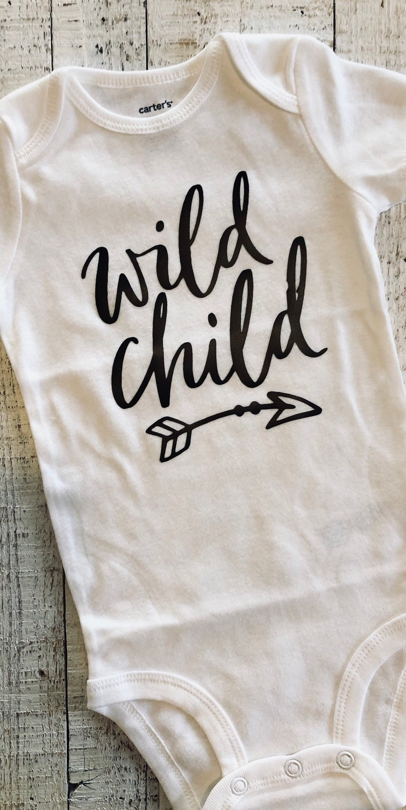 Wild Child ~ Baby Bodysuit