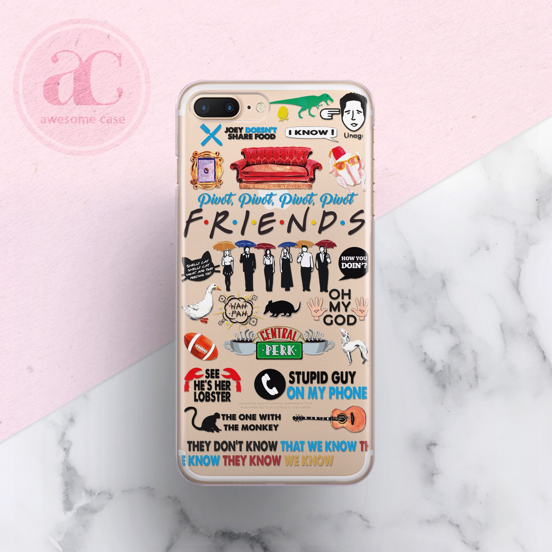 friends iphone 7 plus case