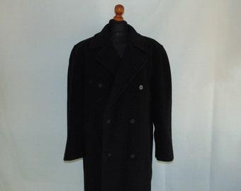 warmen Wolle dunkel Damen Mantel Medium Trachten Mantel Größe 80er Jahre Kaschmir grau Mantel Jacke uTlOPkXZwi