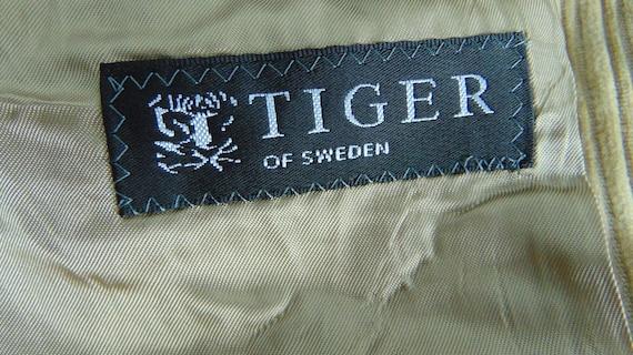 90s Men's corduroy blazer Beige corduroy jacket C… - image 9