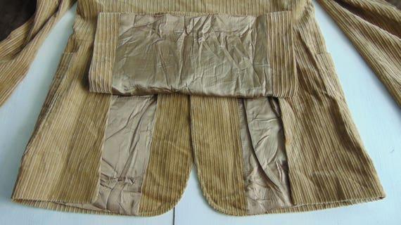 90s Men's corduroy blazer Beige corduroy jacket C… - image 6