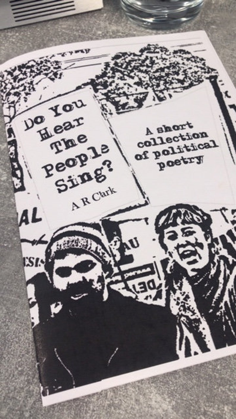 Political poetry collection  Do You Hear The People image 0