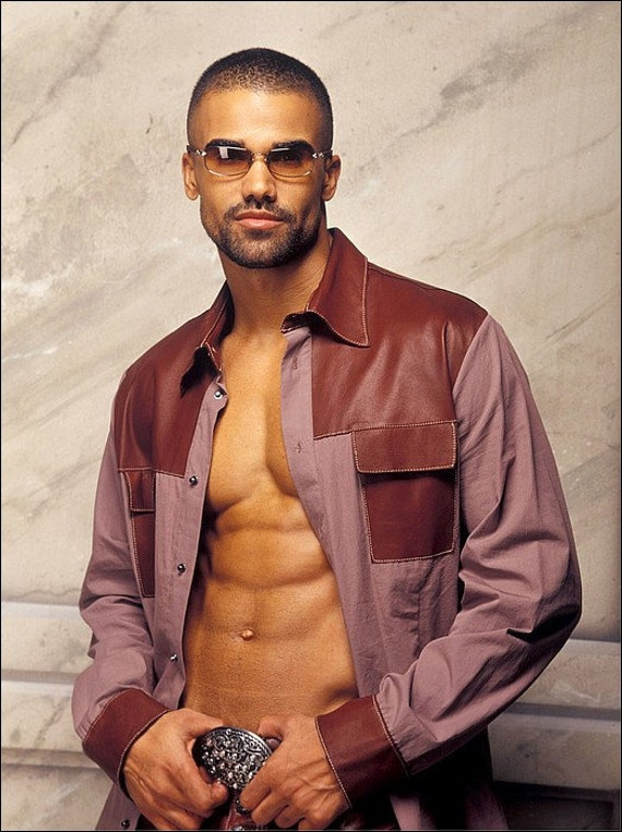 Shemar Moore 5x7 Or 8x10 Or 11x14 Poster Print 1349 Etsy