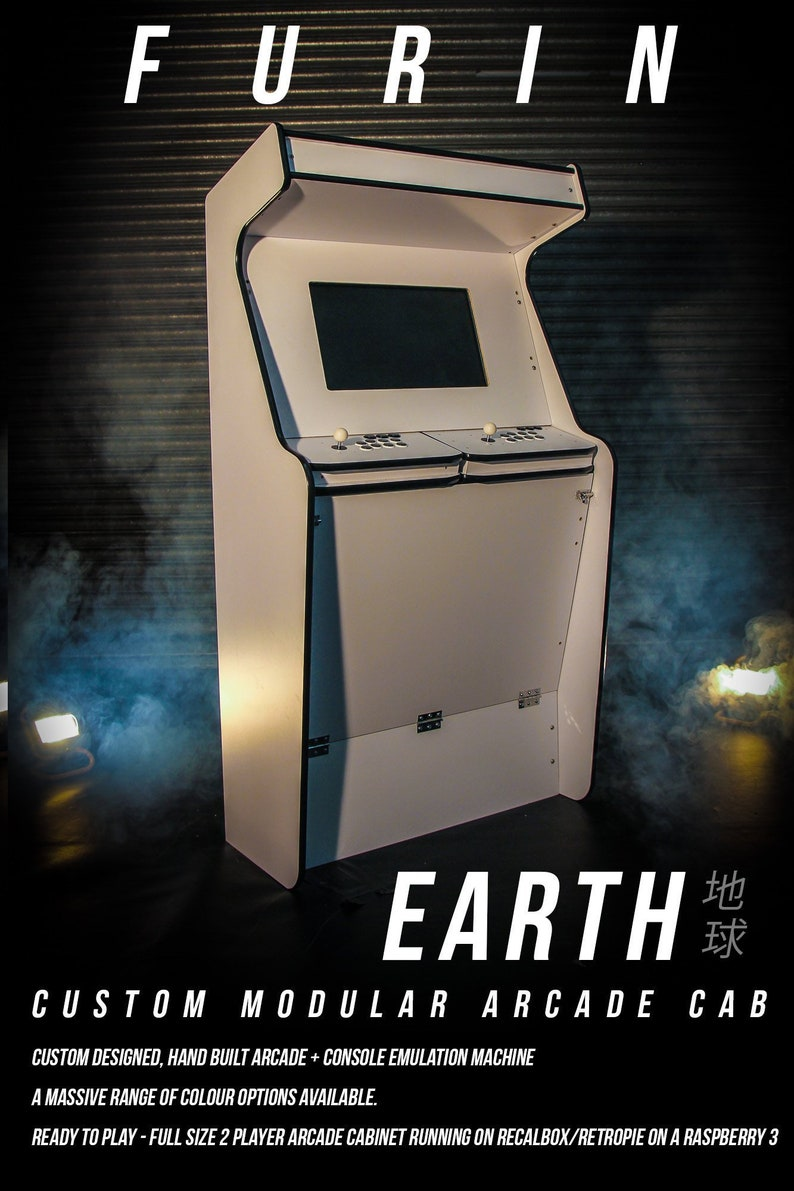 Furin Custom Arcade Machine, two player cabinet , Plug and play