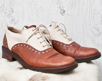 aec2d063cb22e Italian brogue shoes | Etsy