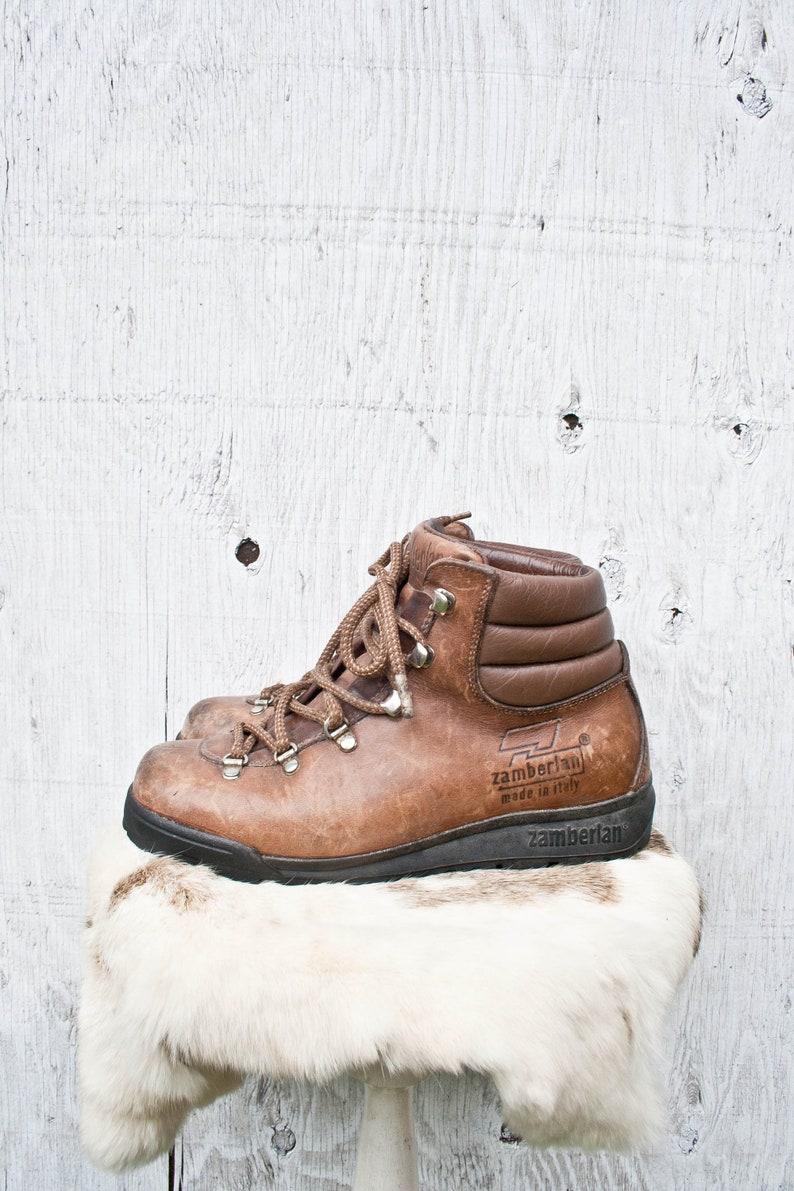 Zamberlan Leather Hiking Boots 7us Womens Zamberlan 303 Etsy