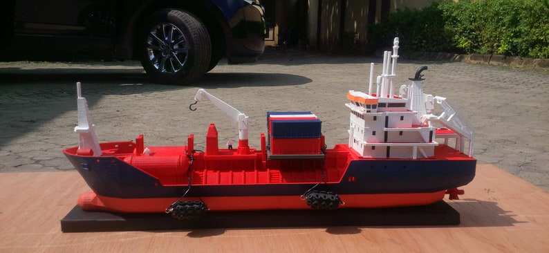 YM-Earth Chemical & Oil Container Ship Detailed 3D Printable image 0