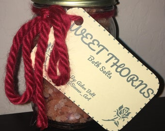 Sweet Thorns 16oz Bath Salts