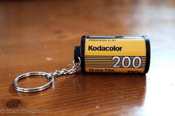 Fujifilm Fujicolor Super HQ 100 35mm Film Roll Canister Keychain Photography Accessory Gift Backpack Bag Car Keys Analog