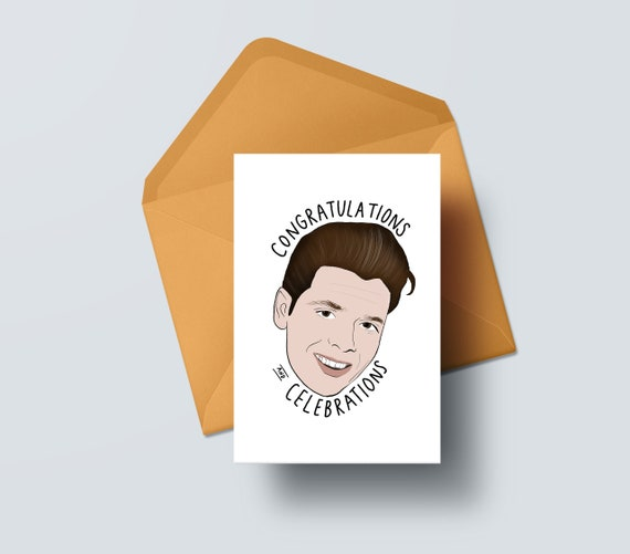 Cliff Richard Birthday Card Congratulations And Celebrations Etsy