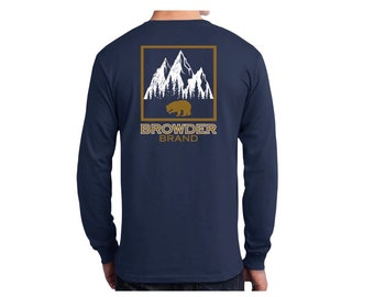 BROWDER BRAND Mountain Peak Tee