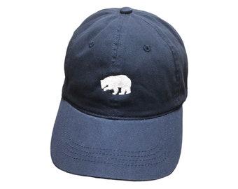 BROWDER BRAND Navy Blue Logo Baseball Cap